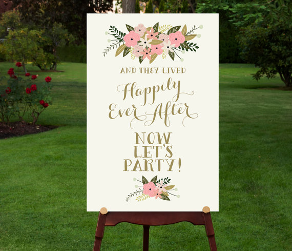 PRINTABLE Reception Sign // Reception Entrance // Let\'s Party ...