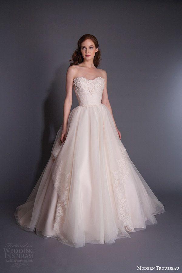 Hochzeit - Modern Trousseau Spring 2016 Wedding Dresses