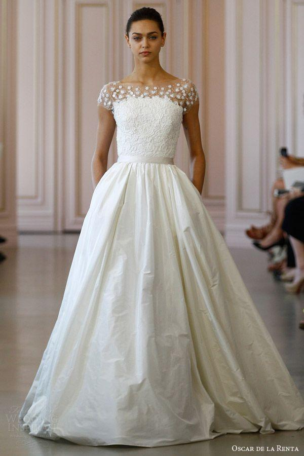 Wedding - Oscar De La Renta Bridal Spring 2016 Wedding Dresses