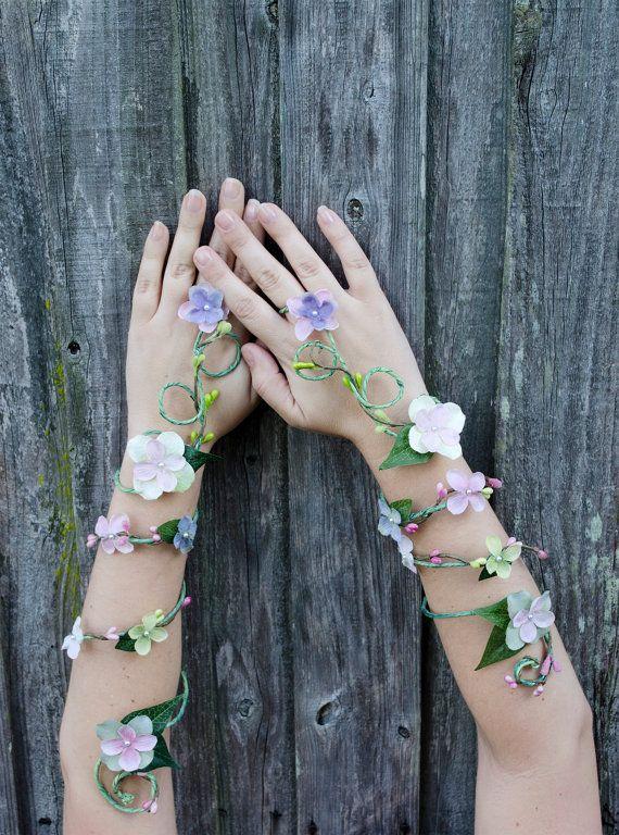 Свадьба - Spring Fairy Arm Cuff