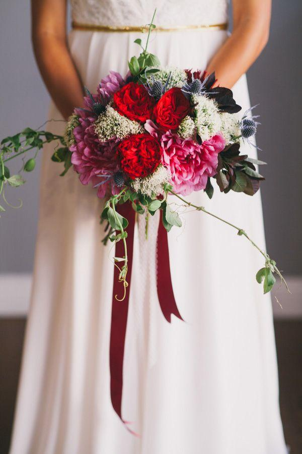 Свадьба - Bold Bridal Style For Autumn