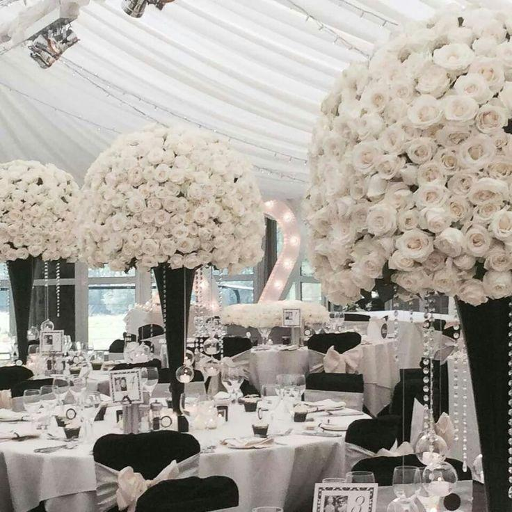 Wedding White Theme: Black & White Wedding #2315255
