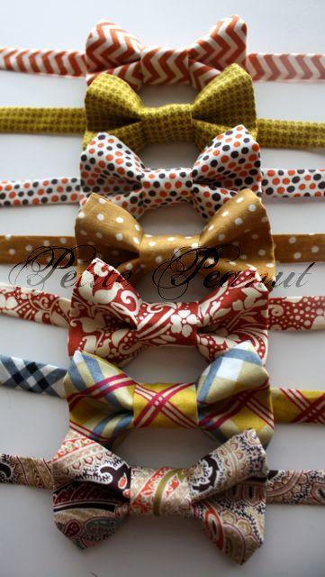 Свадьба - Little Guy FALL Bow Tie - Cider Orchard Collection - (Newborn-10 Years) - Baby Boy Toddler- Made To Order - Photo Prop