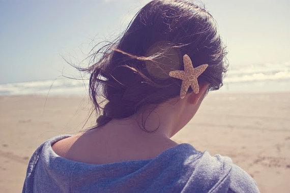 Свадьба - Buy One Get One Free Sale Starfish Hair Clip Starfish Barrette Starfish Hair Accessories Beach Wedding Hair Accessories Mermaid Accessories