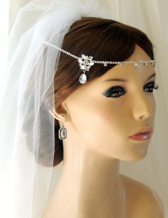 Silver Wedding Bridal Tiara 47e2c6a0bfd