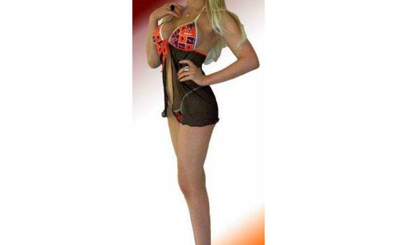 Свадьба - NCAA Virginia Tech Hokies Lingerie Negligee Babydoll Sexy Teddy Set with Matching G-String Thong Panty
