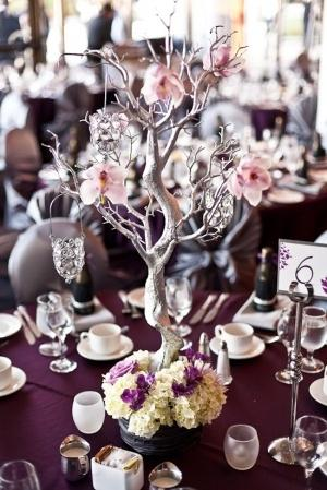 Mariage - Center Pieces