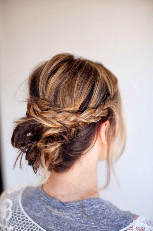 Hair 18 Boho Chic Updos For Every Occasion 2316278 Weddbook