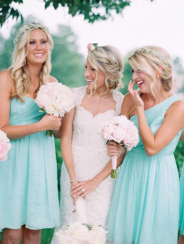Свадьба - Creative Colour - Aqua Blue Weddings