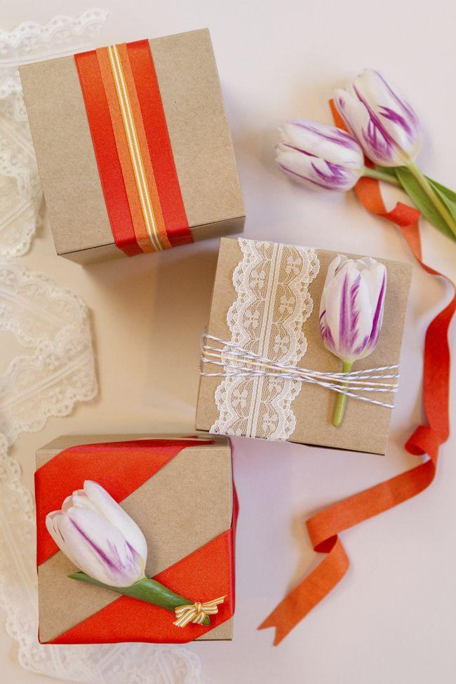 Wedding - DIY Wedding Favor Wrapping