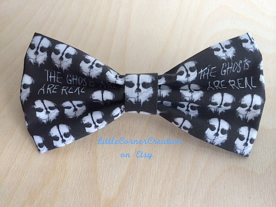 Call Of Duty Ghosts Themed Mens Bow Tie Bowtie For Men Wedding Bow