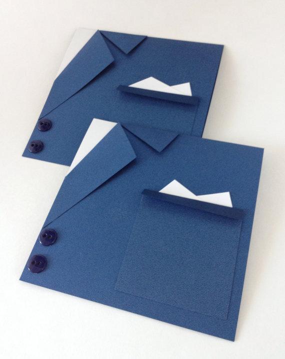 Свадьба - Navy Blue Suit Wedding Card - Will you be my  Best Man - Wedding Party Invitations - Wedding Thank you - Groomsmen - Groomsman