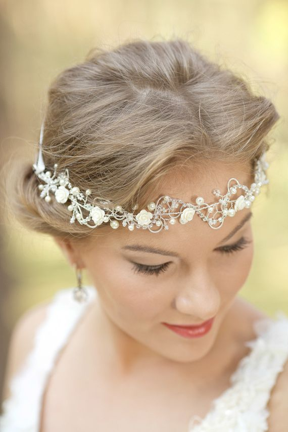 Mariage - LeFlowers Handcrafted Bridal Accessories
