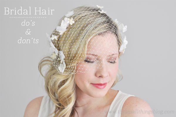 Cheveux - Bridal Hair: Do's And Don'ts #2317680 - Weddbook
