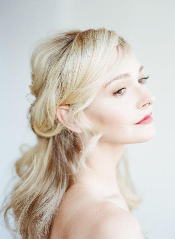 Wedding - Romantic Bridal Hair Inspiration   Tutorial