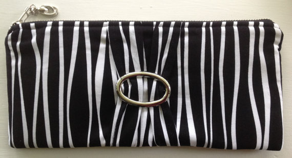 Mariage - Black & White Clutch, Evening Bag, Wedding, Bridesmaids, Packages Available, Ad-Ons Available