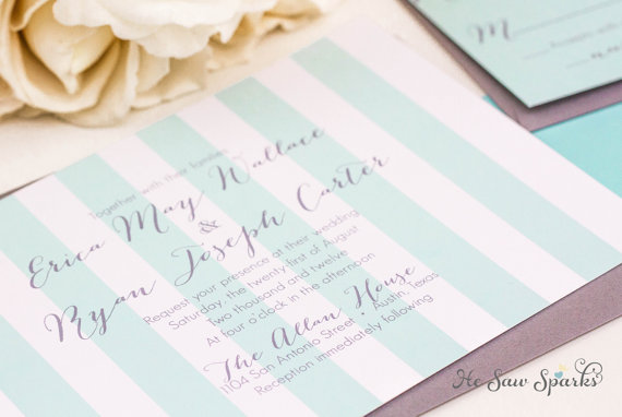 Wedding - Printable Wedding Invitation - The Captivated Collection