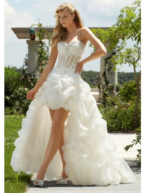 Wedding - Organza Hochzeitskleid