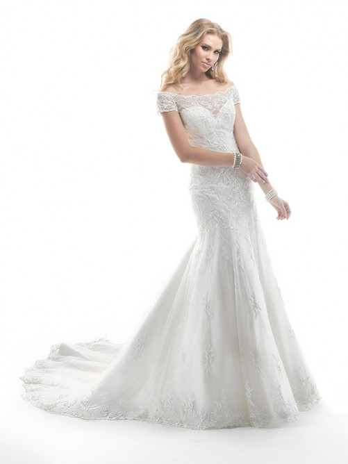 Wedding - Spitze Brautmode