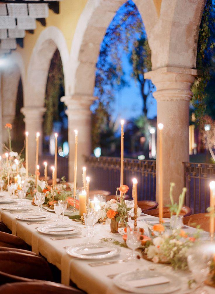 Hochzeit - Jose Villa Mexico Workshop Week Two Welcome Dinner
