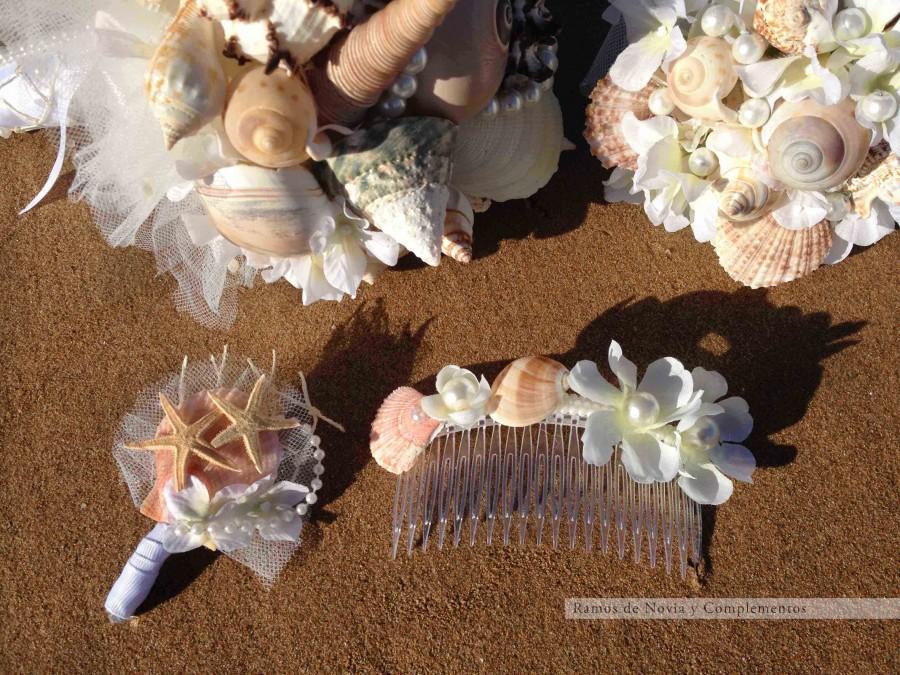 Hochzeit - Ramo boda en la playa