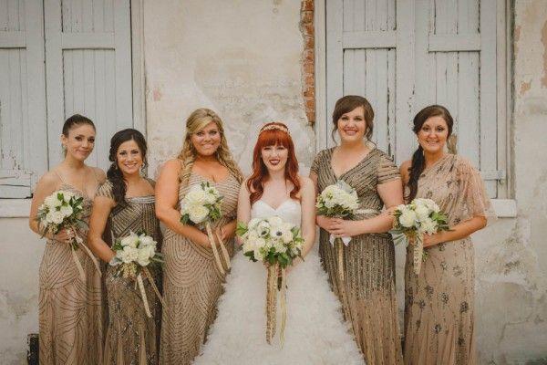 Hochzeit - Bridesmaid Style