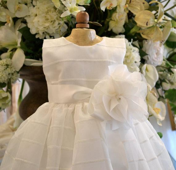 517258071 Baptism Dress, Christening Dress, Flower Girl Dress, Dedication Dress,  Easter Dress, Blessing Dress, Naming Ceremony Dress