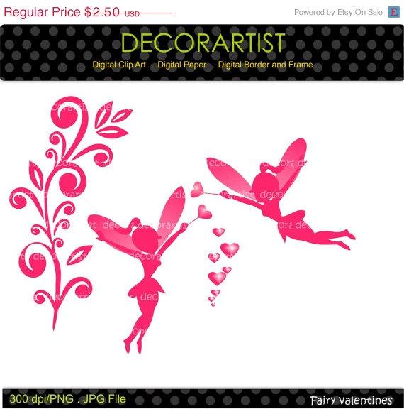 زفاف - ON SALE fairy clip art, fairy pink clip art , wedding ,Digital clip art valentines day clip art,Heart,love scrapbooking,card making,instant