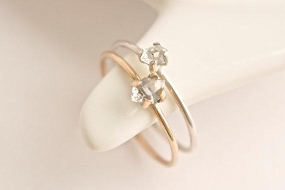 زفاف - Sterling Silver Herkimer Diamond Ring. Herkimer Ring. Herkimer Diamond Ring. Herkimer Diamond Engagement Ring. Sterling Silver Herkimer Ring