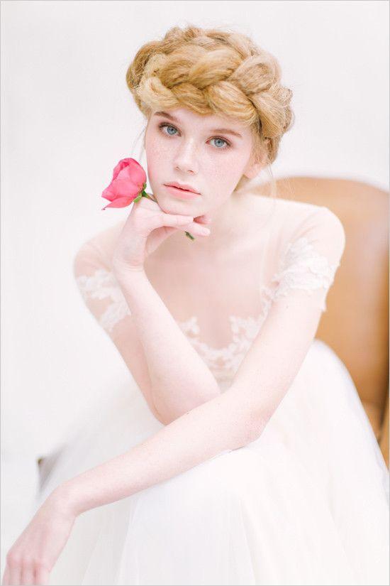 Hochzeit - Pink And White Natural Wedding Ideas