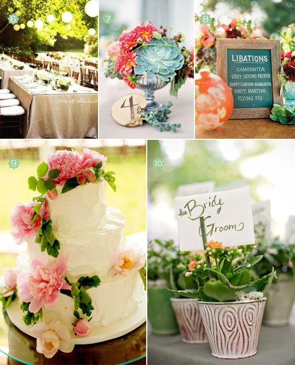 DIY - SPRING WEDDING IDEAS #2320900 - Weddbook