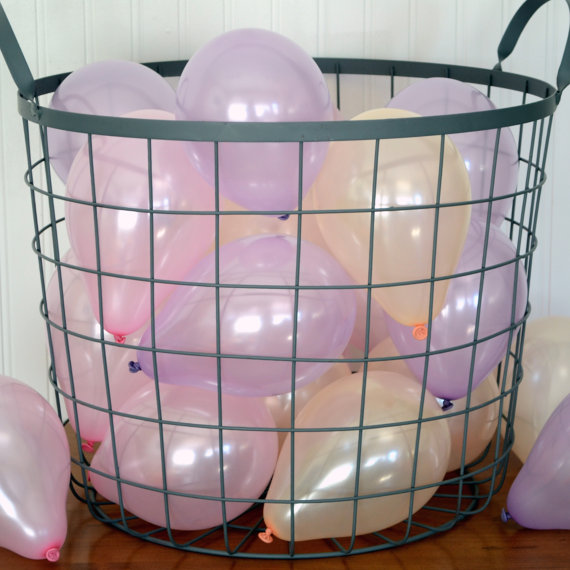 Mariage - Spring Pastel Girl 2 Miniature Party Balloons, Peach, Pink, Lavender