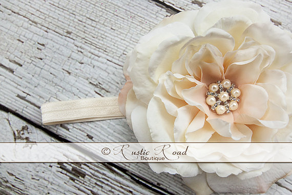 how to make a headpiece for flower girls