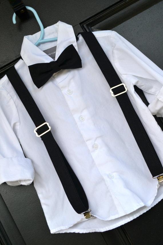 333b1e717 Childs Black Bow Tie