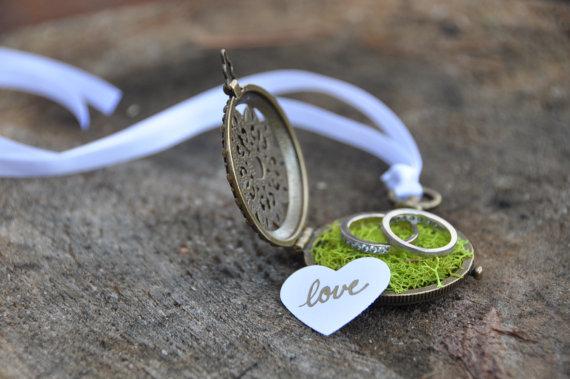 Custom engagement ring box wedding ring box ring bearer for Custom made ring box