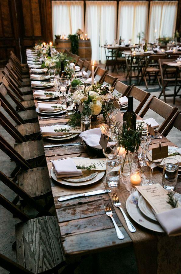 Свадьба - Romantic Rustic Urban Wedding At Brooklyn Winery
