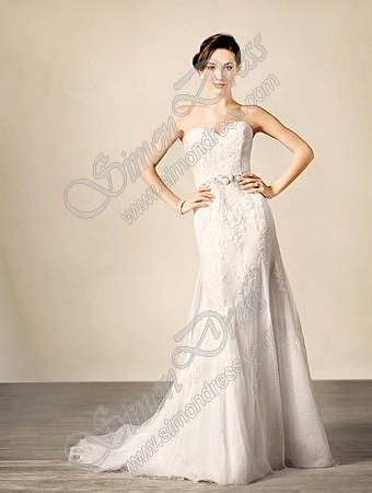 Wedding - Alfred Angelo Sapphire Wedding Dresses - Style 2437A