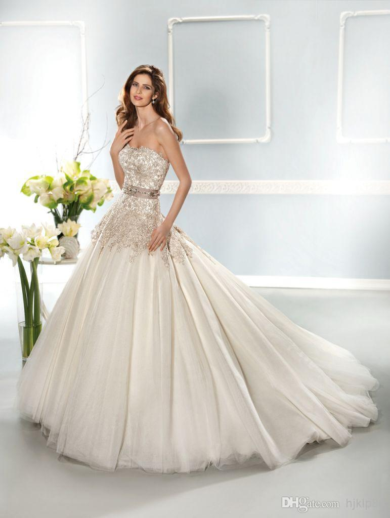Best-selling 2014 Collection Sweetheart Strapless Crystal Beaded ...