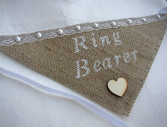 Свадьба - Burlap Dog Bandana - Personalized Dog Collar - Dog Ring Bearer - Pet Wedding - Pet Photo Prop - I Do Too Sign - Girl Collar - Rustic Wedding