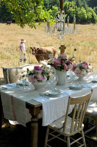 Mariage - Outdoor Dining Ideas