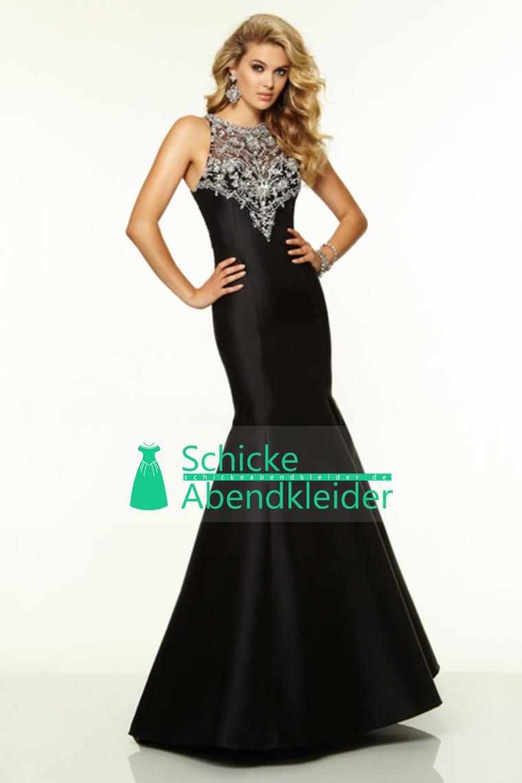 2015-Big-Ausverkauf-Scoop-Beaded-Satin-amp-Tulle-Abschlussball-Kleid ...