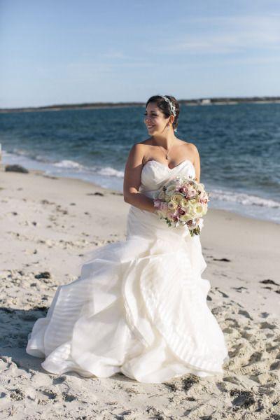 Wedding - Elegant Greek Wedding At Wychmere Beach Club