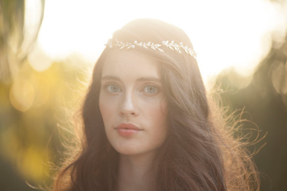 زفاف - bridal Hair accessories , Brides Headpieces ,  Gold Leafs Hair Wreath , gold Leaf Crown , Wedding Headband , bridal  hair accessories  tiara