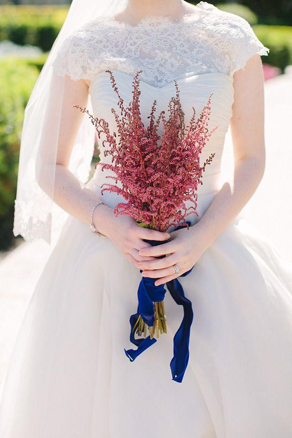 Hochzeit - Pink And Blue Wedding Inspiration