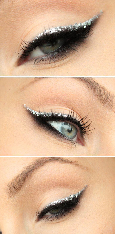 Свадьба - Glitter Eyeliner