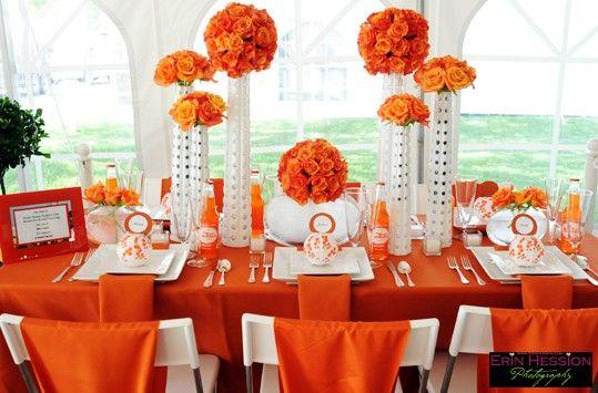 Orange Flower Arrangements Bouquets