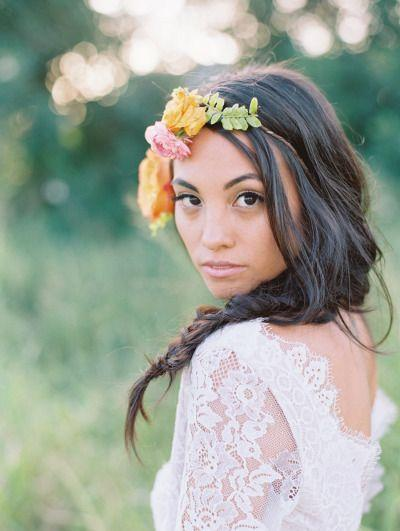 Свадьба - Colorful Bohemian Same-Sex Wedding Inspiration In Maui