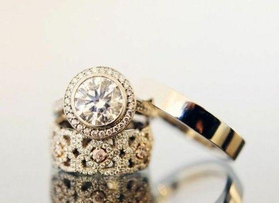 Свадьба - Rocks On Rocks On Rocks: Engagement Ring Eye Candy