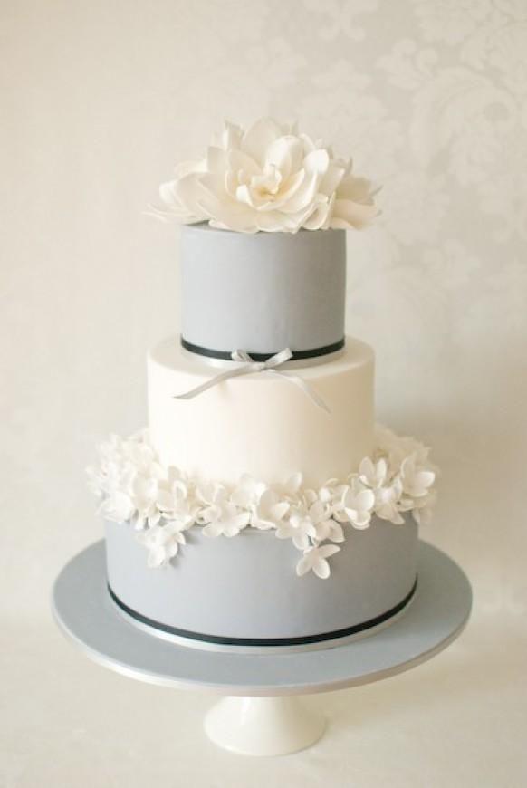زفاف - Cakes - Grey/silver