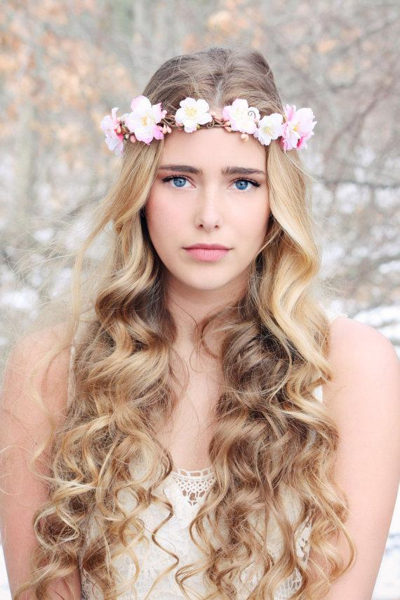 Pink Cherry Blossom Hair Piece 45367184bc9